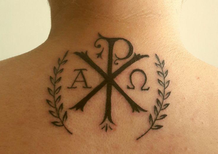 Chi rho #Jesus #Cristo #jesusfreak #alfa&omega #tattoogospel #ink #cristogram