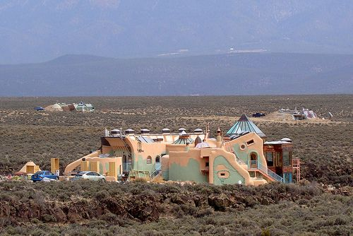 Earthship Community   Earthships Taos New Mexico Green Building with Earthen Homes, Pt.4 ...