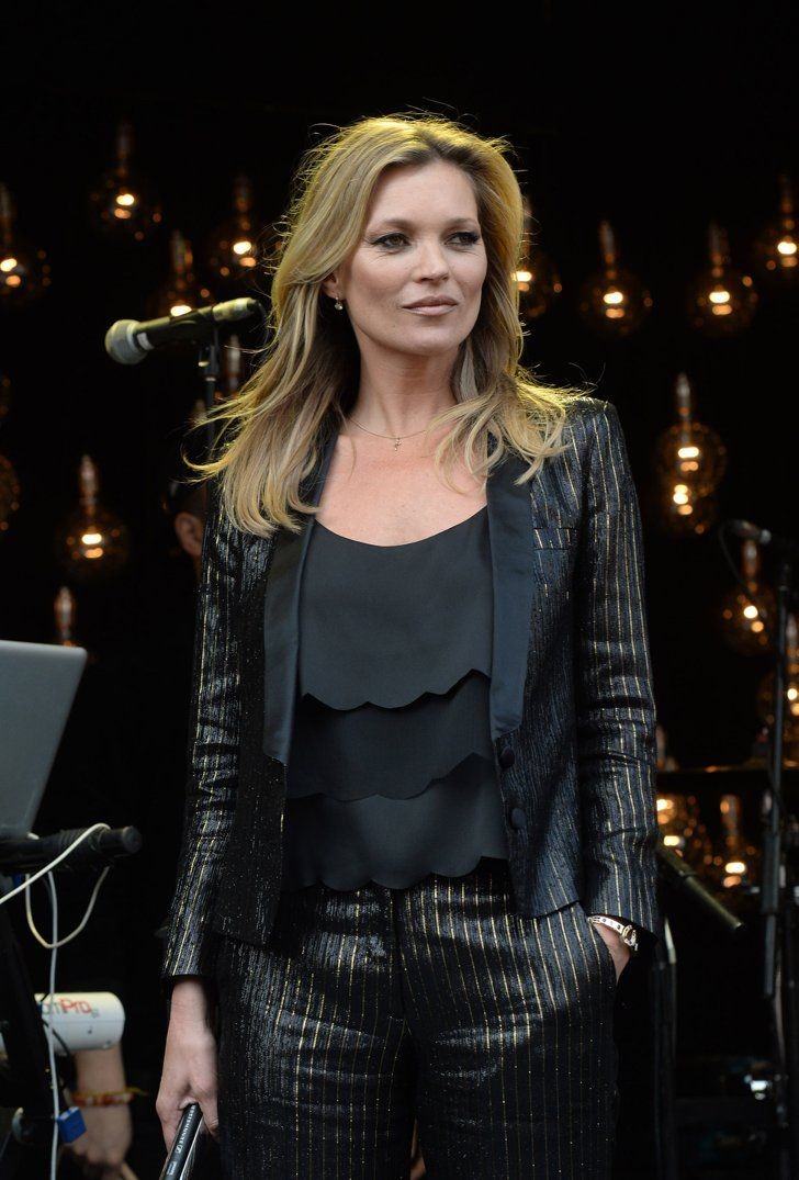 Pin for Later: A History of Pinstripes, From Clark Gable to Carrie Bradshaw Models Can't Resist Them When Kate Moss wears something, it's only a matter of time before we all do.