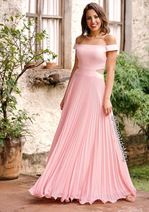 SELEÇÃO DE VESTIDOS DE FESTA ROSÉ | Vestidos, Vestidos de