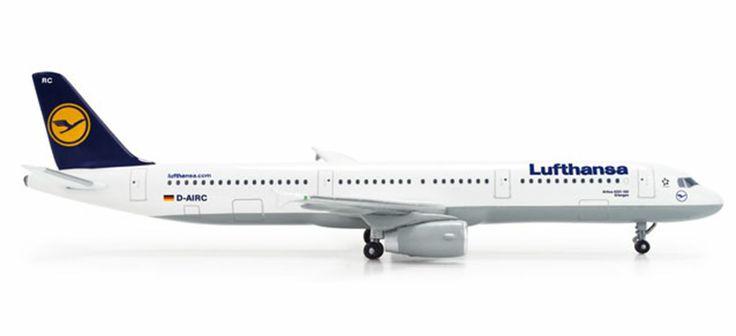 Herpa Lufthansa A321 Erlangen diecast pesawat 9 cm 390rb