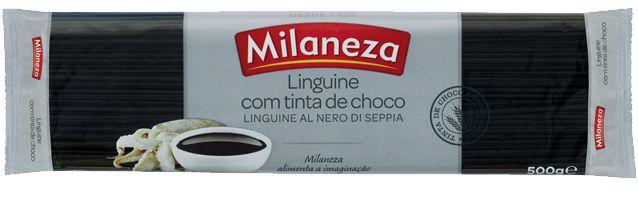 Linguine com tinta de choco | Milaneza