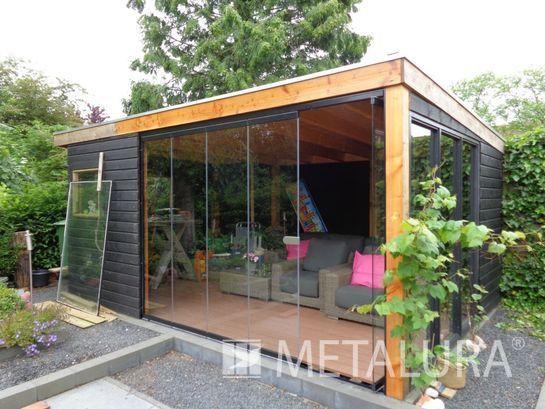 Geïntegreerde verandabeglazing