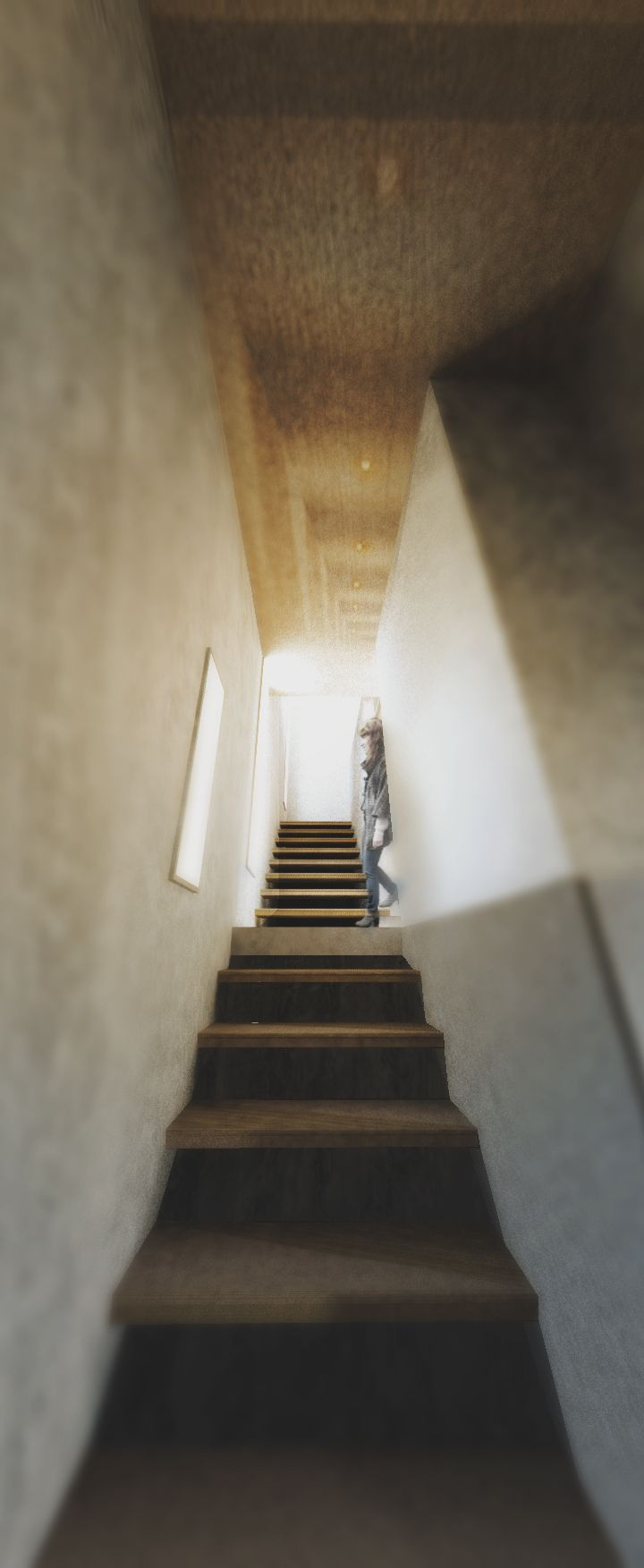 Infill House stairs