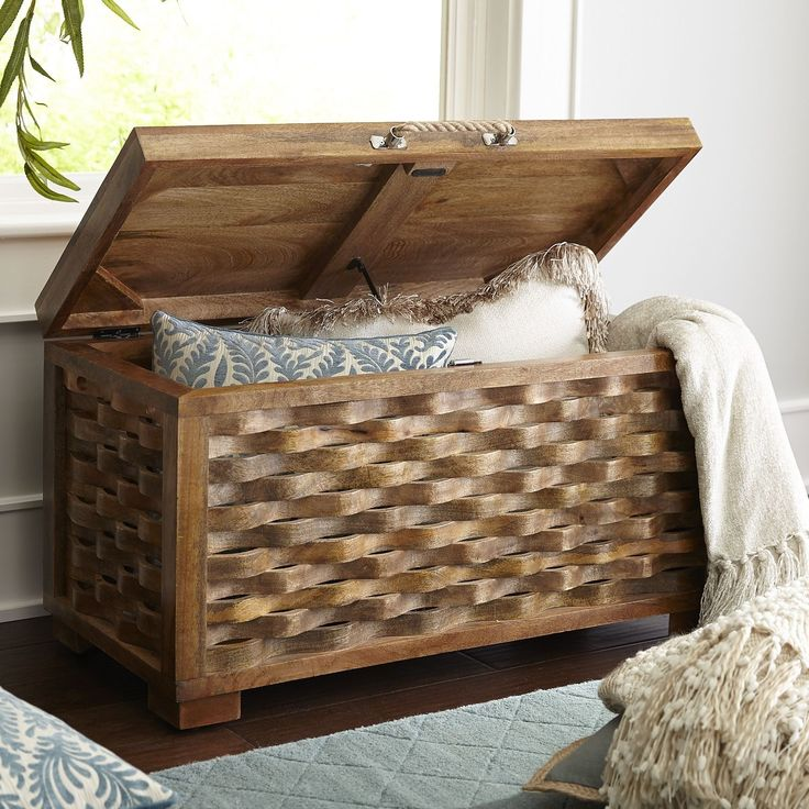 Lamont Woven Trunk Trunks And Pier 1 Imports