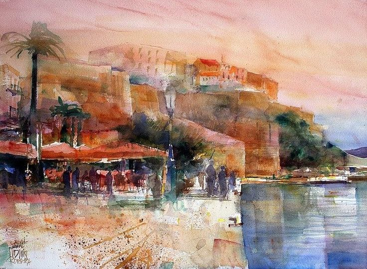 Çoğunlukla koyu kahverengi ve toprak renklerini kullanan, eserleri doktora tezlerine konu olan Varşova'lı Sanatçı Krzysztof Ludwin