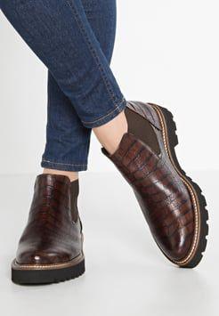 Gabor - Boots à talons - teak