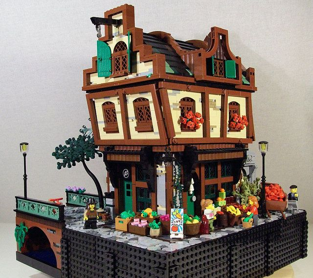 ~ Lego MOCs Fantasy ~ Green Grocer | by Bennemans1984