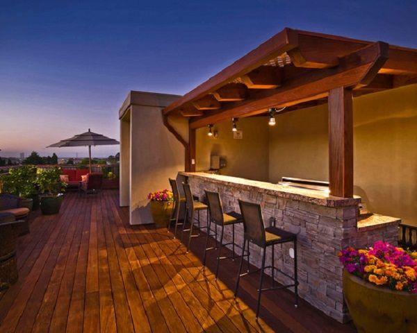 22 best outdoor bar bbq images on pinterest beach houses for Balcony bar ideas