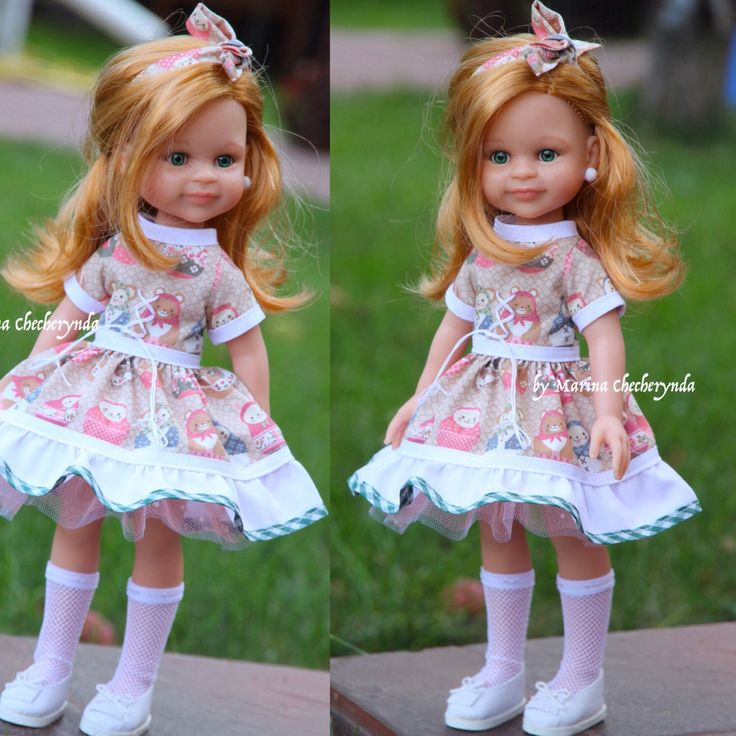 Doll clothing for Paola Reina dolls by FairyTaleLOVEit on Etsy https://www.etsy.com/listing/467398835/doll-clothing-for-paola-reina-dolls