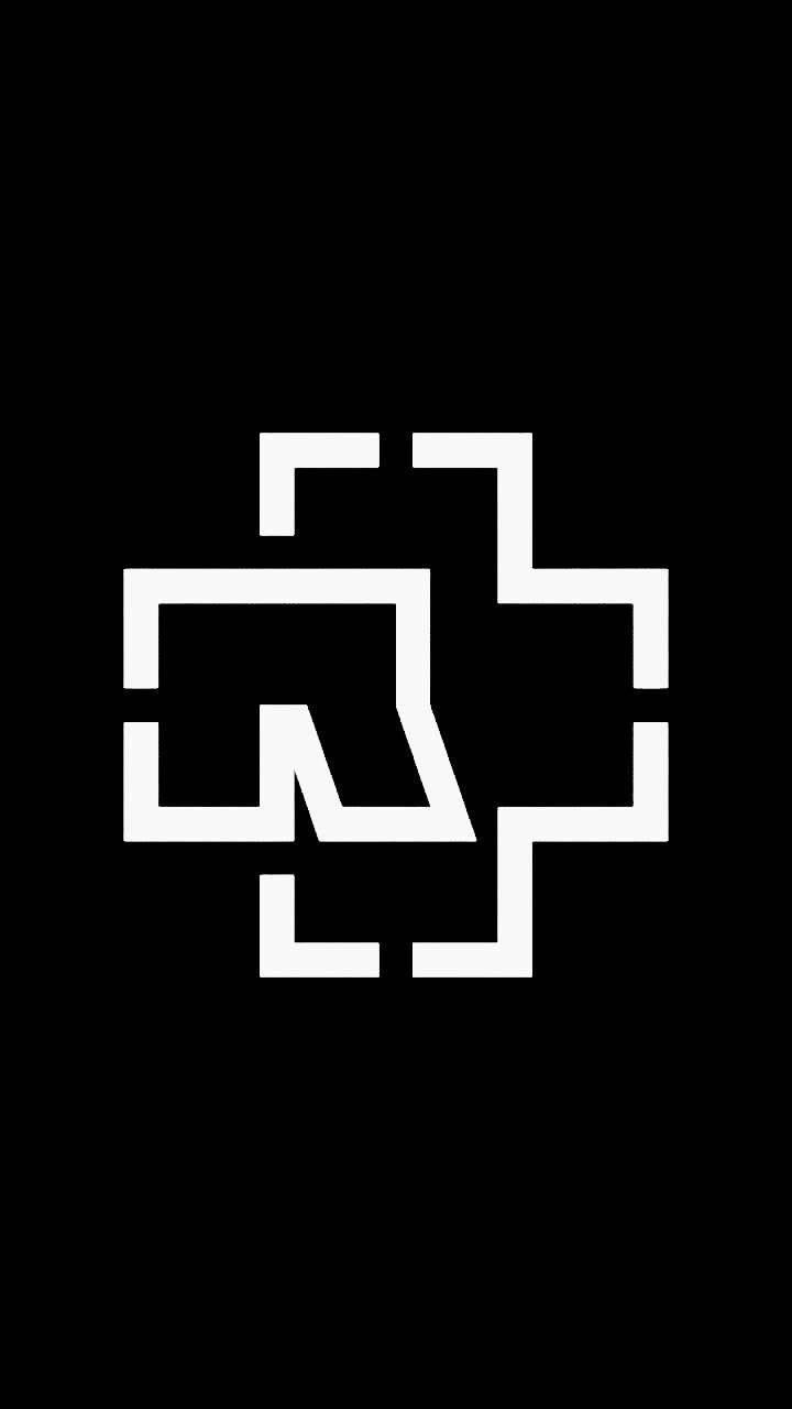 Рамштайн логотип картинки на телефон