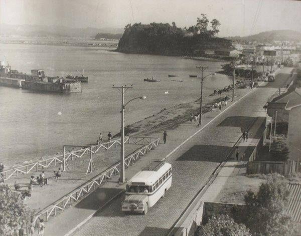 Avenida Blanco Encalada, año 1955.