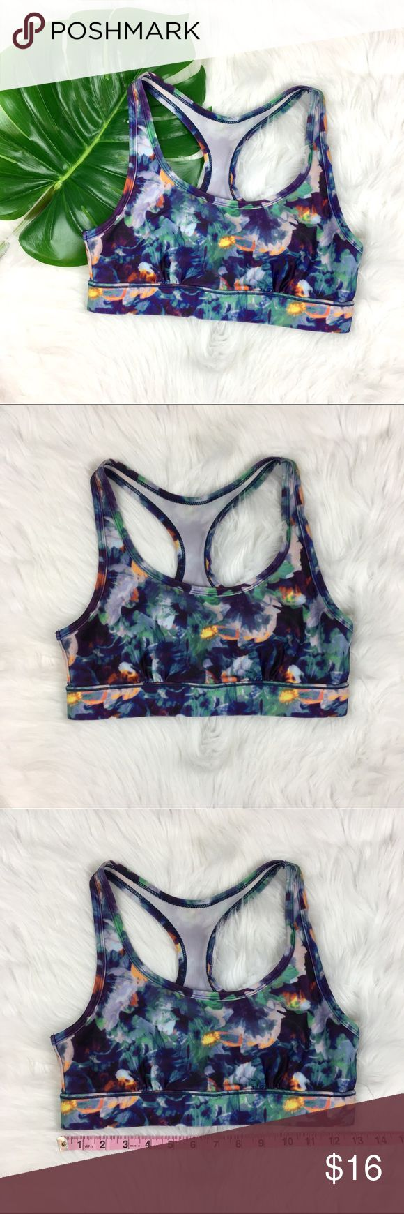 American Eagle NWOT Floral Sports Bra American Eagle flora print sports bra. Size small. It is NWOT no major flaws.   ❌I do not Trade 🙅🏻 Or model💲 Posh Transactions ONLY American Eagle Outfitters Intimates & Sleepwear Bras