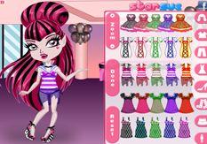 Vestir Monster High.com - Juego: Chibi Draculaura - Jugar Gratis Online