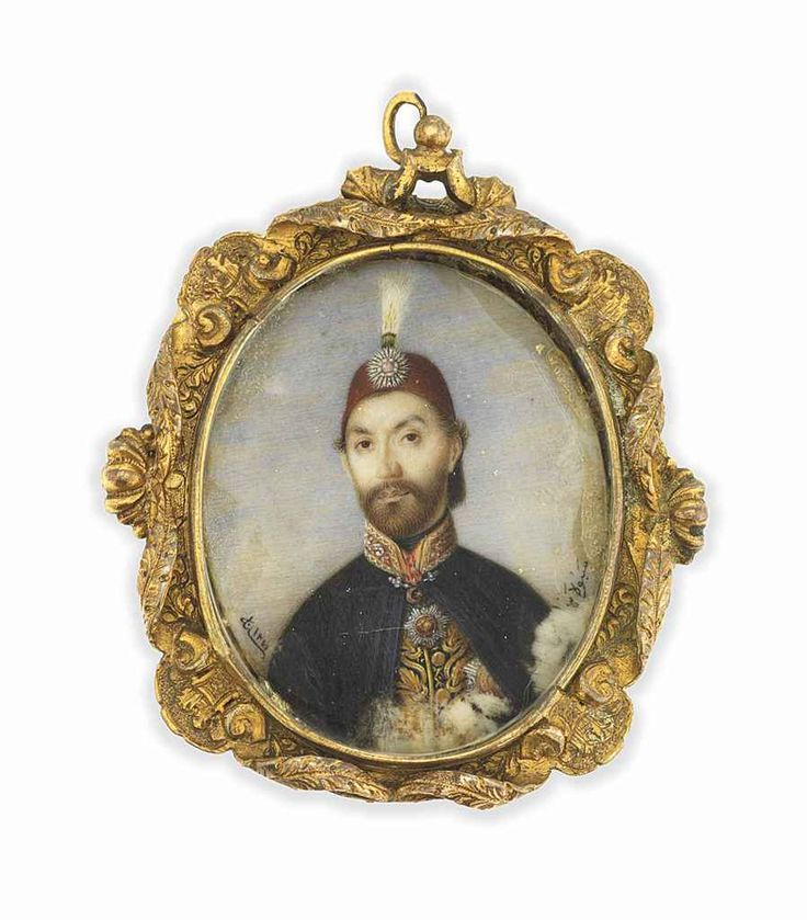 A MINIATURE PORTRAIT OF ABDÜLM