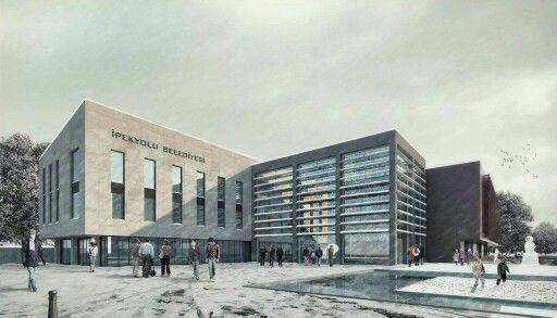 Van ipekyolu belediye binası yarışma önerisi