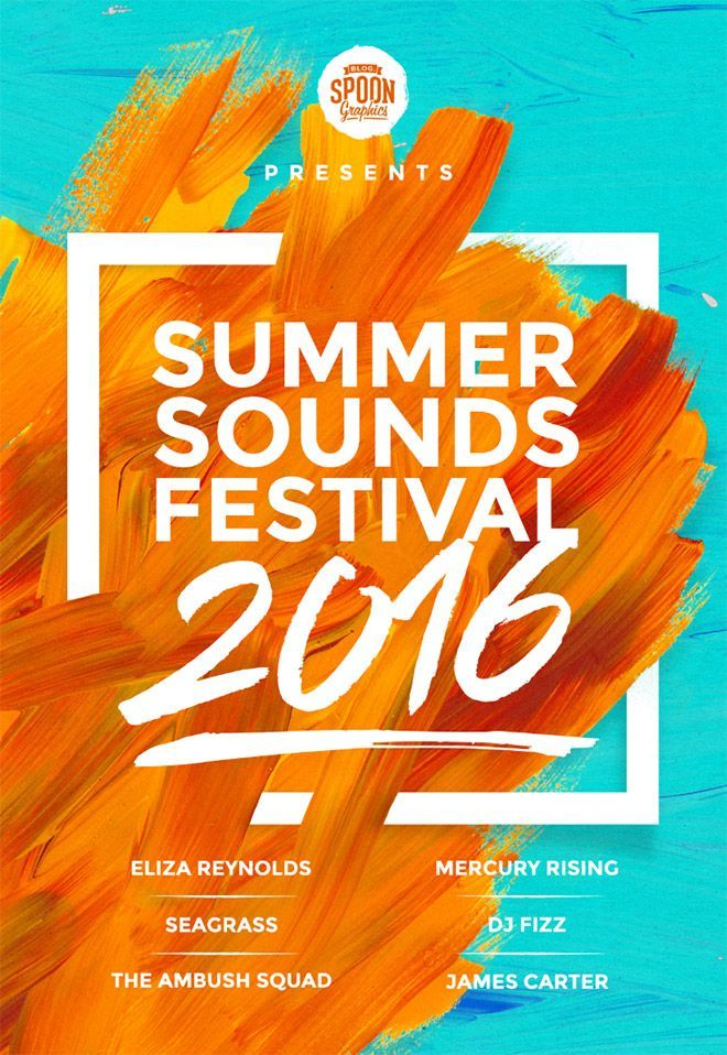 how to create a music festival poster design in photoshop - Poster Design Ideas