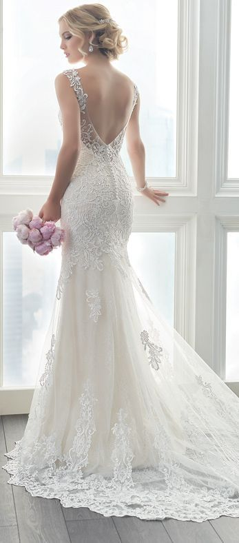 Lace back Wedding Dress by Christina Wu Brides HouseofWuBrands ChristinaWuBrides ChristinaWu HouseofWu