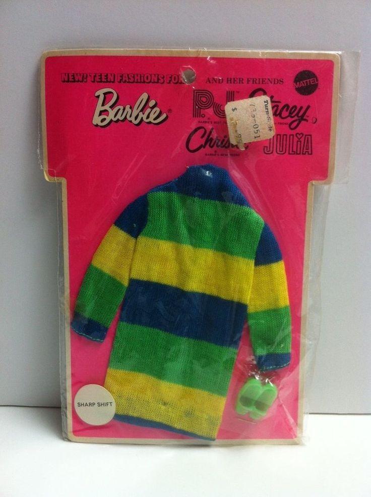 Vintage BarbieDoll PJ Stacey Christie Julia 'Sharp Shift' VARIATION NRFB MIP MOC #Dolls