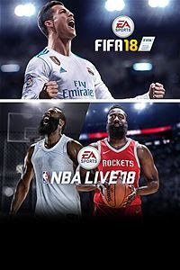 Pacote EA SPORTS para Xbox One: FIFA 18  NBA LIVE 18: The One Edition << R$ 13560 >>