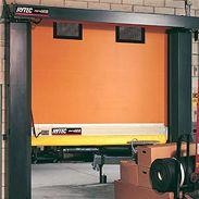 Rytec Doors Fast-Seal® High-speed rolling door with Break-Away™ bar for large openings.