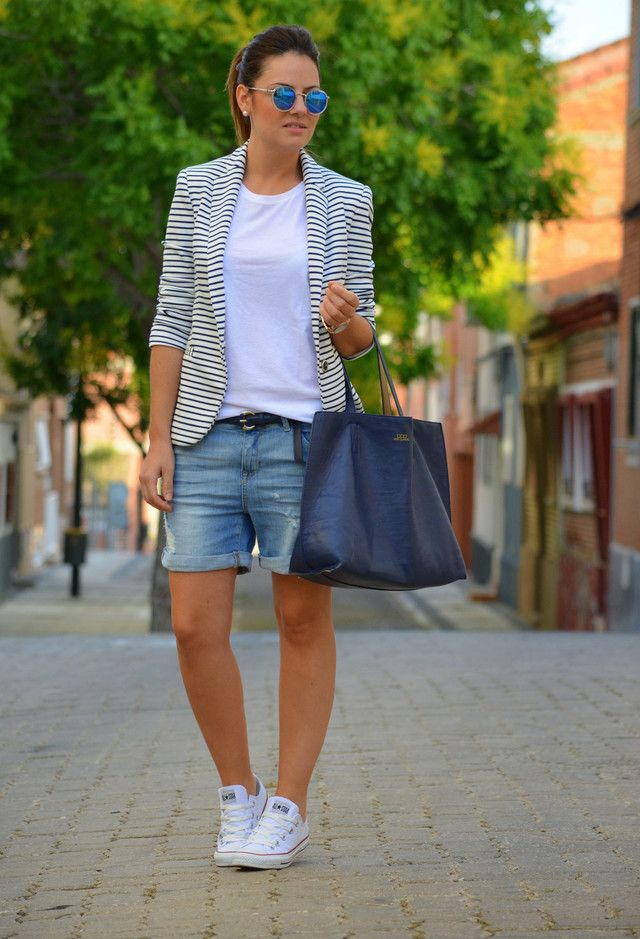 fabulous knee length shorts outfit 10