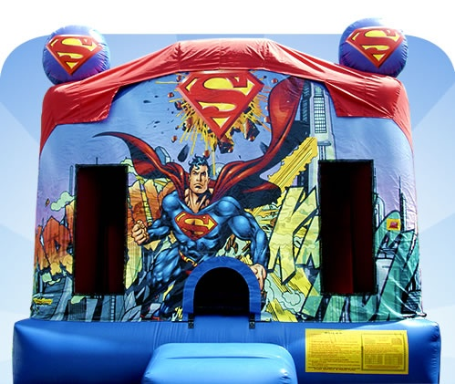 Superman Jumping Castle for Hire