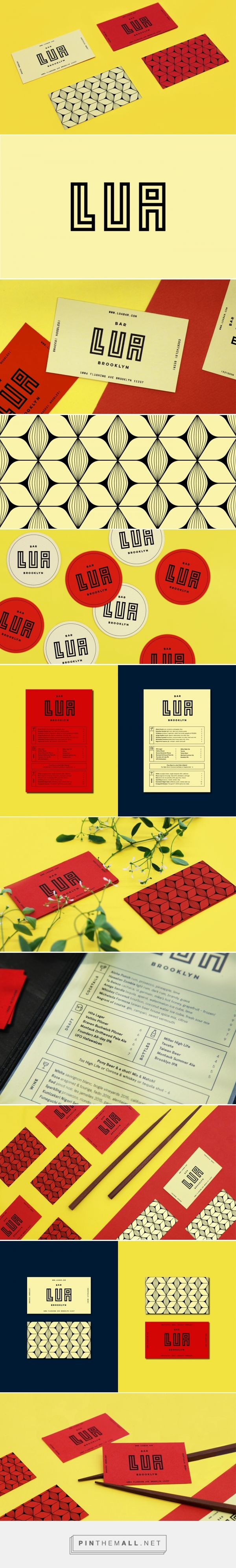 Lua Hawaiian-Japanese Bar Branding by Meredith Wallis | Fivestar Branding Agency – Design and Branding Agency & Curated Inspiration Gallery