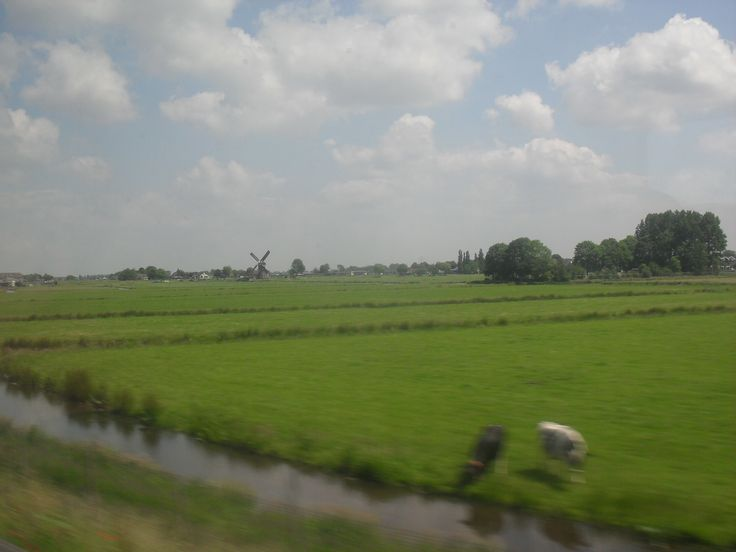 Somewhere between Rotterdam and Amsterdam