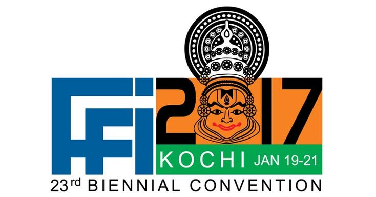 FFFAI's 23rd Biennial Convention to be held in January 2017 in Kochi