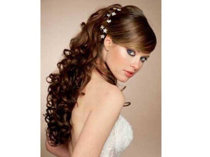 64 best peinados de fiesta images on pinterest - Peinados de fiesta cabello largo ...