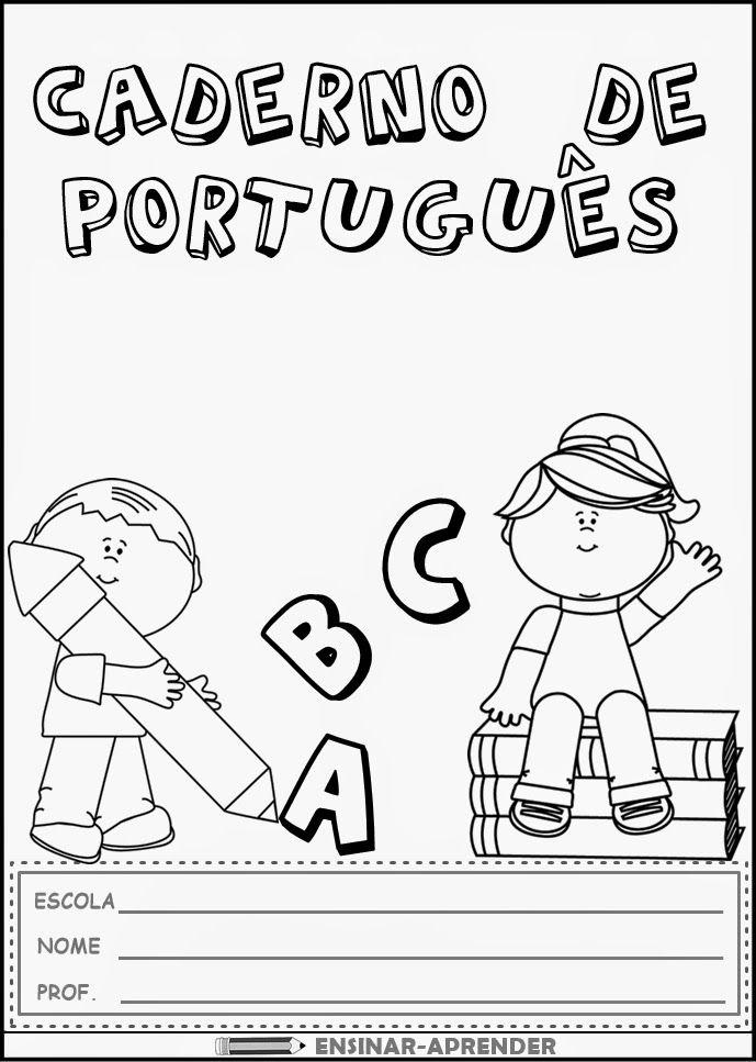"""10 CAPAS DE CADERNO PARA TODAS AS MATÉRIAS ~ """" Cantinho do Educador Infantil """""""