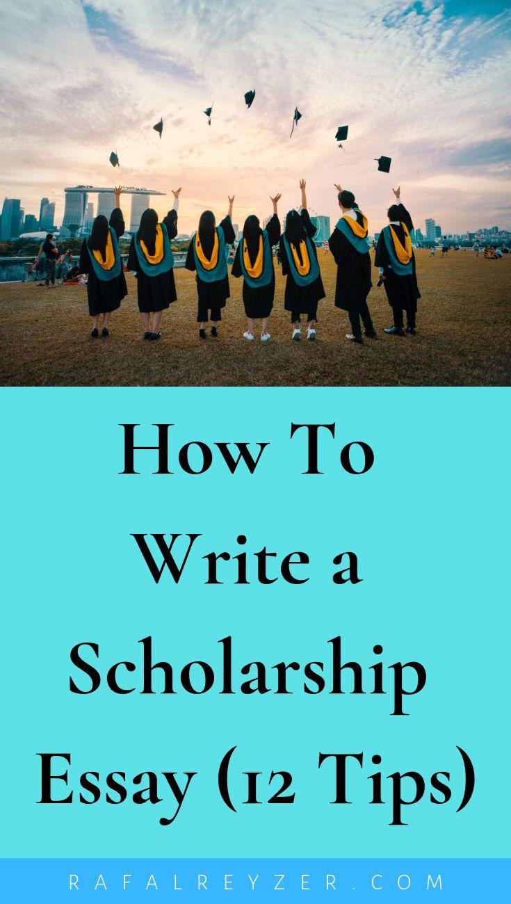 Why do you deserve this scholarship: essay (examples) rafal reyzer