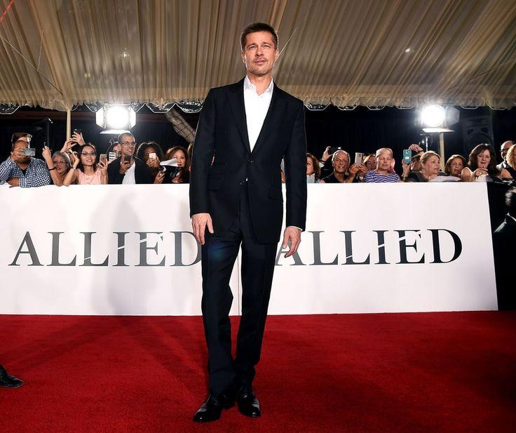 Брэд Питт: Стиль Одинокого Папаши #союзники #стиль #сердцеед #БрэдПитт #премьера #АнджелинаДжоли