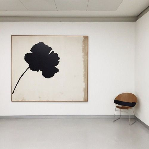 "thepoetryofmaterialthings: ""Jannis Kounellis en Museo del Novocento"""