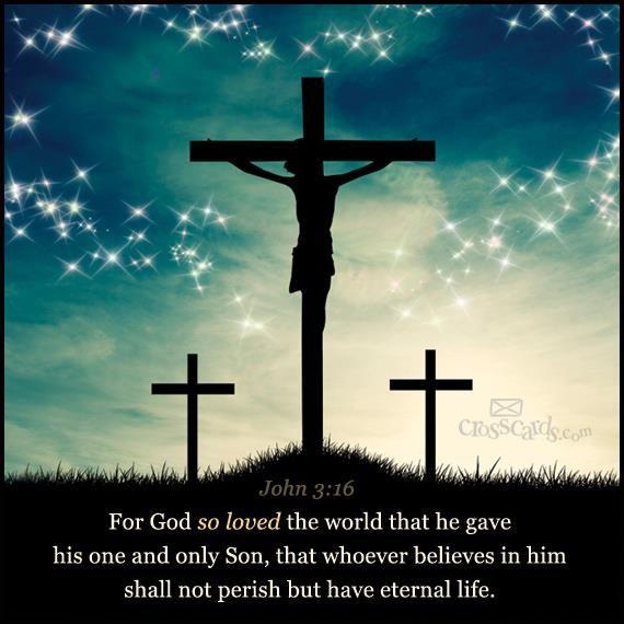 John 3:16     https://www.facebook.com/photo.php?fbid=607540095941937
