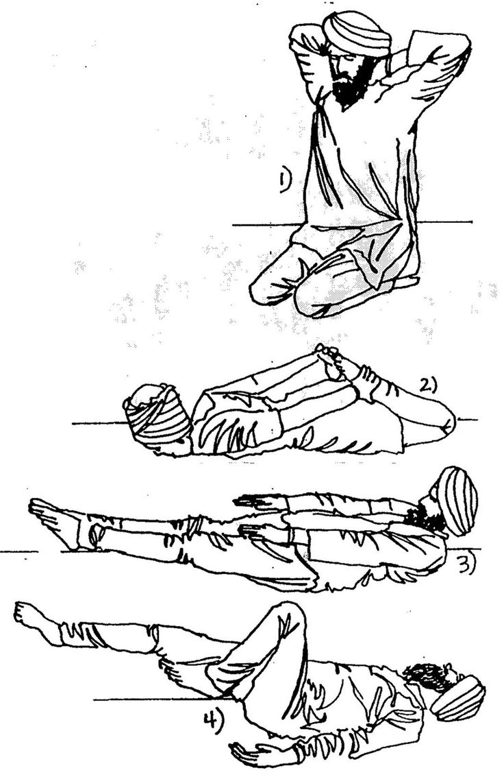 Kundalini Yoga; Abdomen strengthening kriya