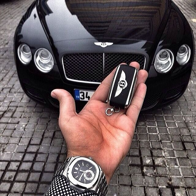 Patek Philippe x Bentley Continental GT Speed