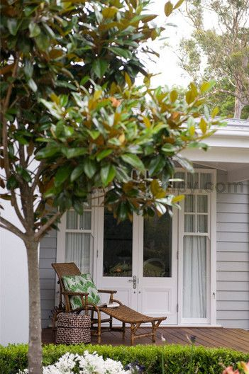 french doors & exterior colour