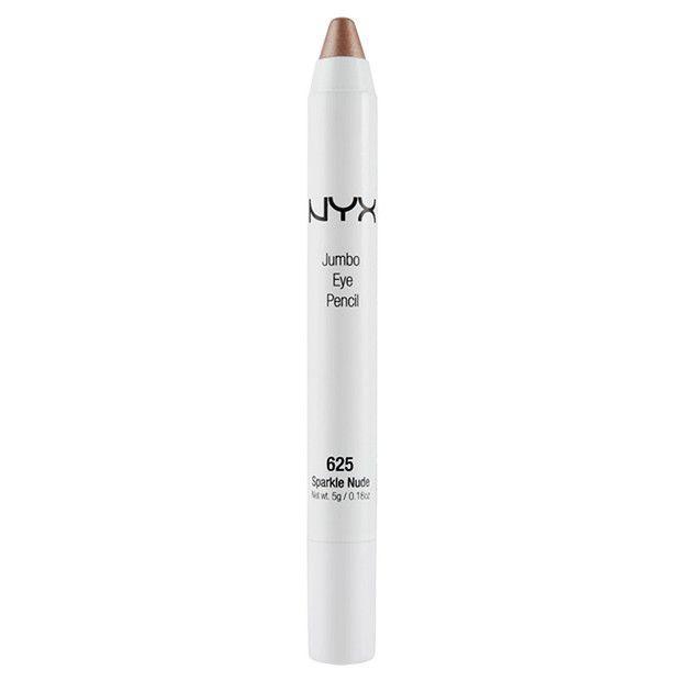 NYX Jumbo Eye Pencil - Sparkle Nude