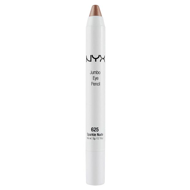 NYX Jumbo Eye Pencil - Sparkle Nude $14 with shade milk included from the nyx online store/target