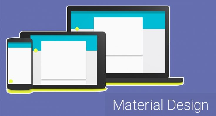 Что такое material design? — Dark site of marketing