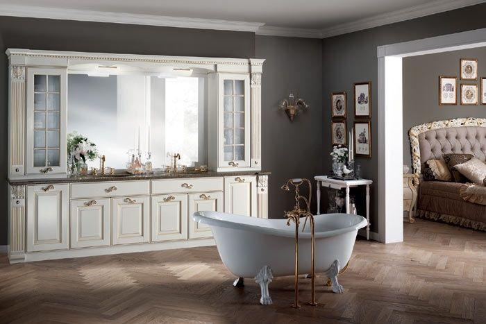 Baltimora - Scavolini  #mobili #riccelli #mobiliriccelli #collection #bagno #bathroom #furniture #design #interior #classic #home #indoor #scavolini #bluscavolini #arredamento #casa #arredo  #classic #elegant