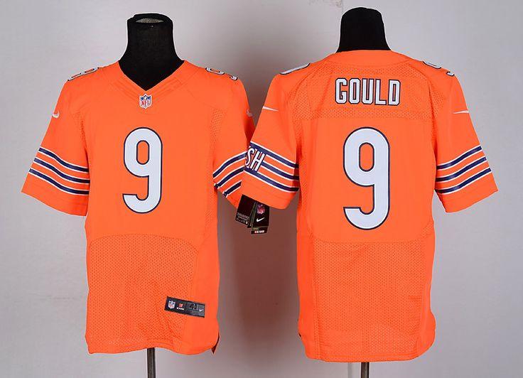 ... Navy Blue Team Color Stitched NFL Elite Jersey Mens Nike NFL Chicago Bears  9 Robbie Gould Orange Elite Jersey ... a85bc8f59