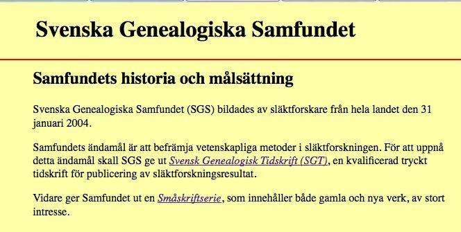 Genealogiska samfundet