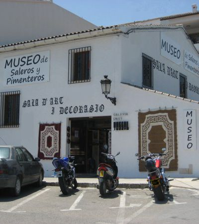History of the Museum. Saleros y Pimenteros. CASTELL DE GUADALEST.