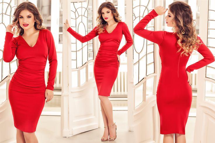 Short red dress for New Year's Eve Party: https://missgrey.org/en/dresses/red-elegant-short-dress-rachel/447?utm_campaign=decembrie&utm_medium=rachel_rosie&utm_source=pinterest_produs