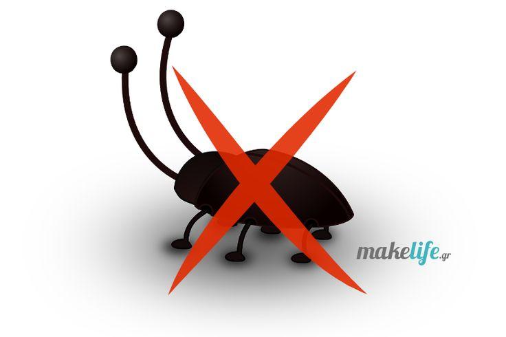 Μην αφήσετε να θρονιαστούν οι κατσαρίδες στο σπίτι σας. Δείτε πως θα εξοντώσετε μια για πάντα αυτές τις ανεπιθύμητες επισκέπτριες.