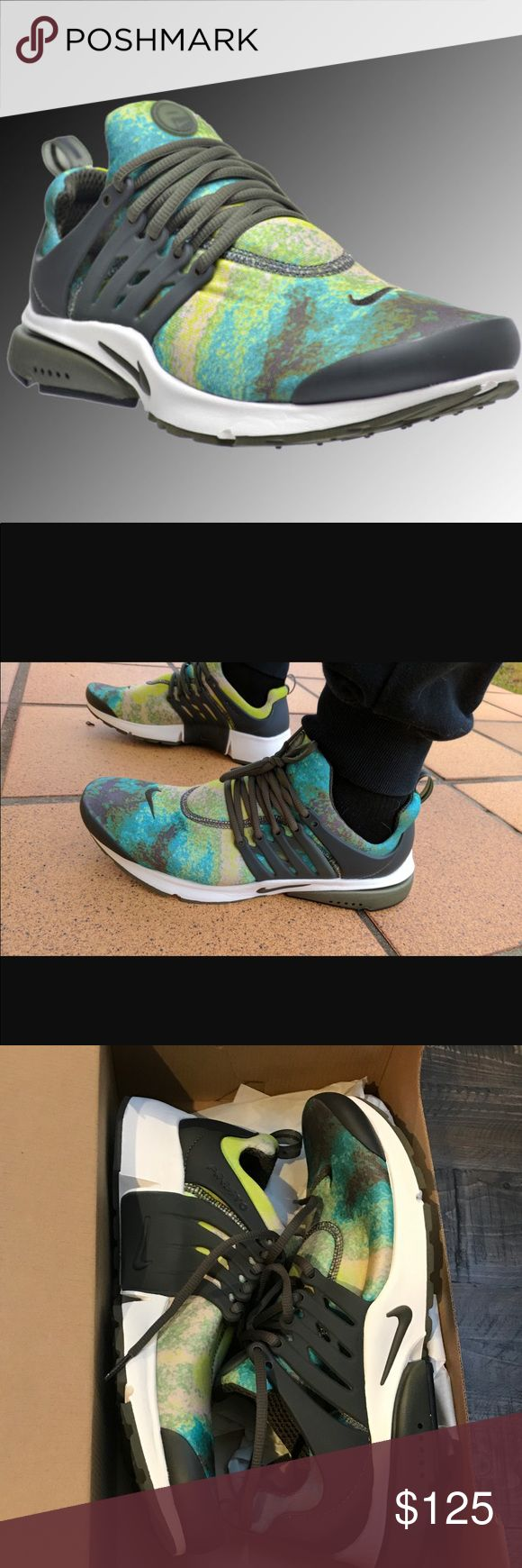 Home nike wmns air presto flyknit ultra midnight turquoise olive - Nwb Nike Air Presto Gpx Rainforest Various Sizes Nwt