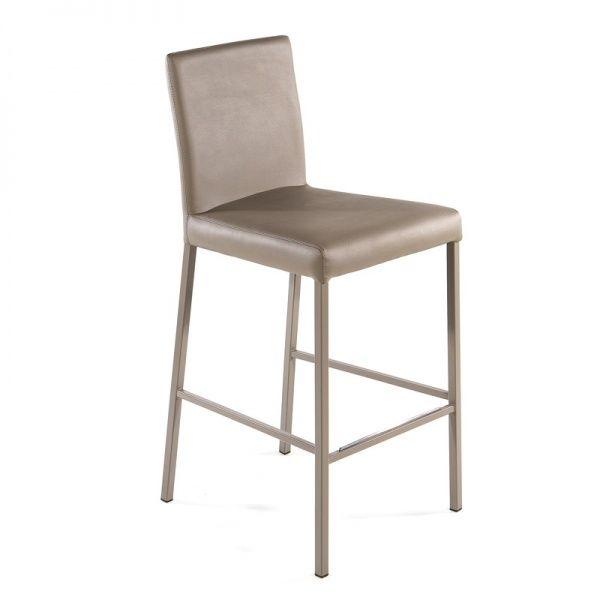 Tabouret snack contemporain en métal - Hana - 4 Pieds : tables, chaises et tabourets